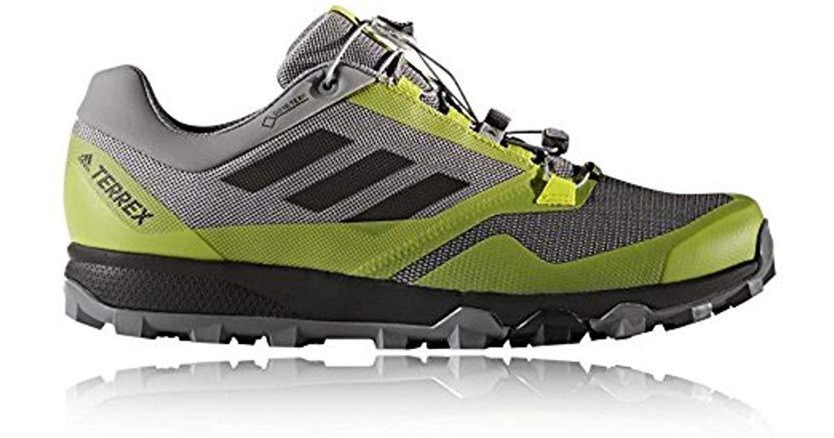 f1a71a27aa029 Adidas Green Terrex Trailmaker Gtx Trail Running Shoes for men