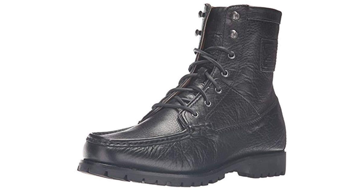 buy online 9908c c9964 Polo Ralph Lauren Black Rouland Ankle Bootie for men