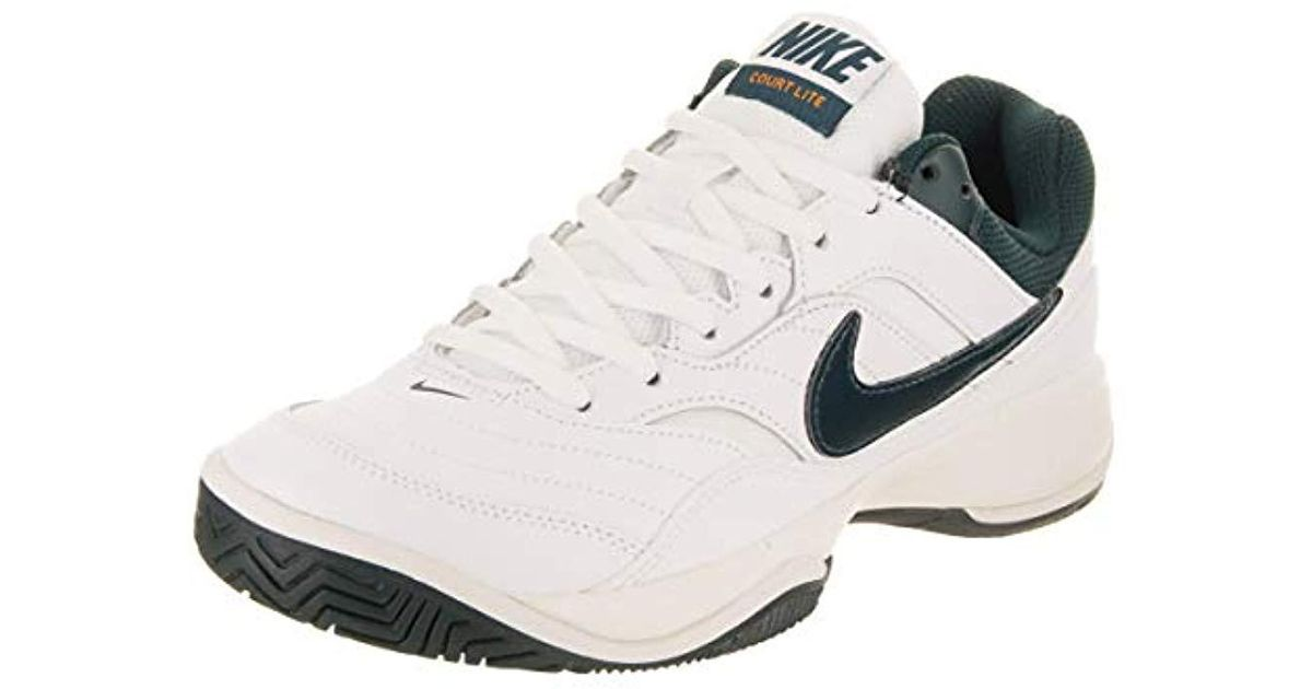 fda7345f3b07 Nike Court Lite Tennis Shoe in White - Lyst
