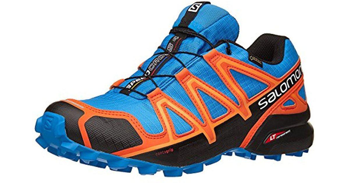 4033e5f47e9d8 Yves Salomon Speedcross 4 Gtx Men's Shoes (trainers) In Blue for men
