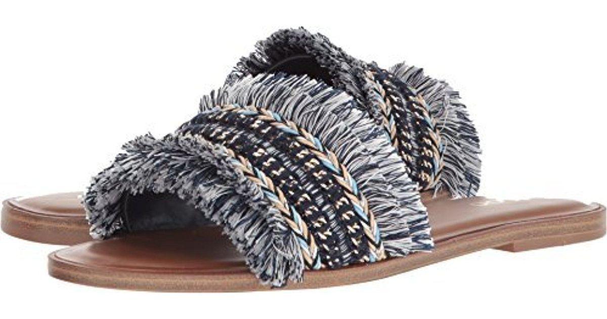7e2f29bd5000 Lyst - ALDO Castlerock Slide Sandal in Blue - Save 30%