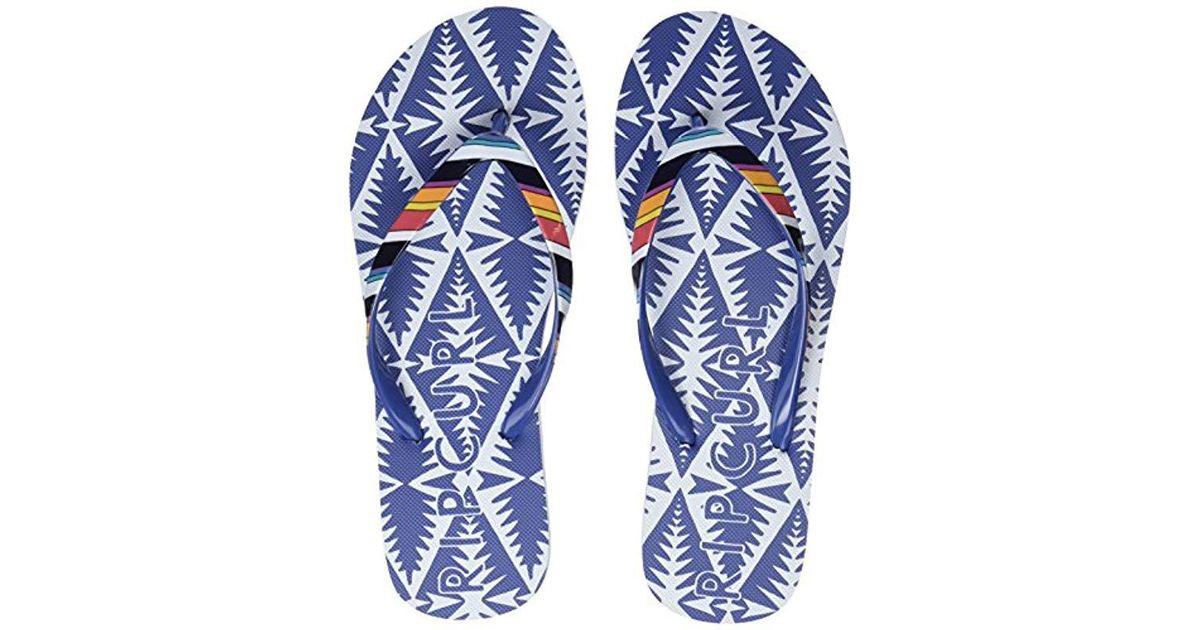 fa7cd13b2608 Rip Curl Beach Bazarr Clogs in Blue - Save 6% - Lyst