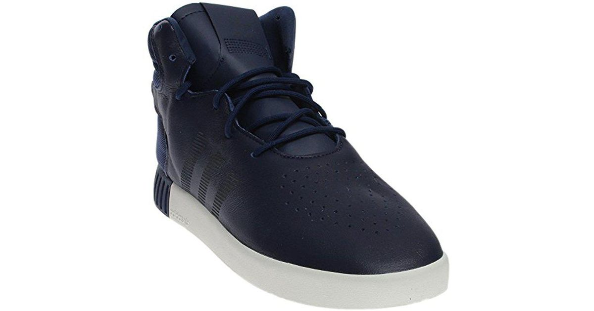 the best attitude 22c45 79ee7 Adidas Originals - Blue Tubular Invader Strap Shoes for Men - Lyst