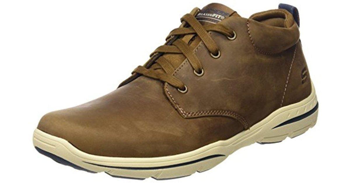2c03bb83407d Lyst - Skechers Usa Harper Meldon Chukka Boot for Men