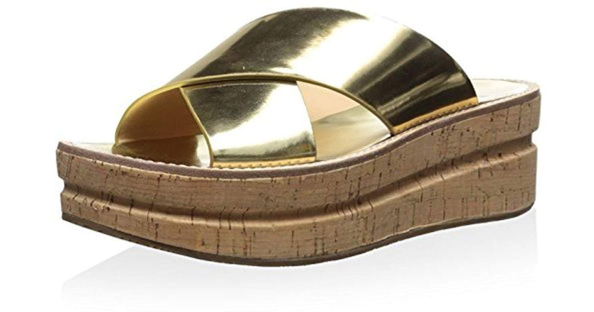 Belle by Sigerson Morrison Womens Almas Flatform Sandal
