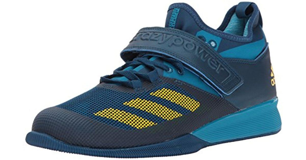 the best attitude 1943b 07f5e Lyst - Adidas Crazy Power Cross-trainer Shoes in Blue for Me