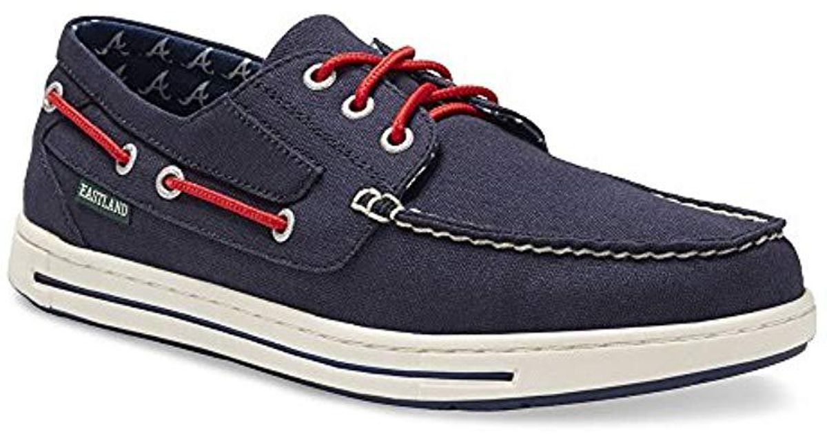competitive price 568dd f7ad3 Eastland Blue Adventure Mlb Braves Oxford for men