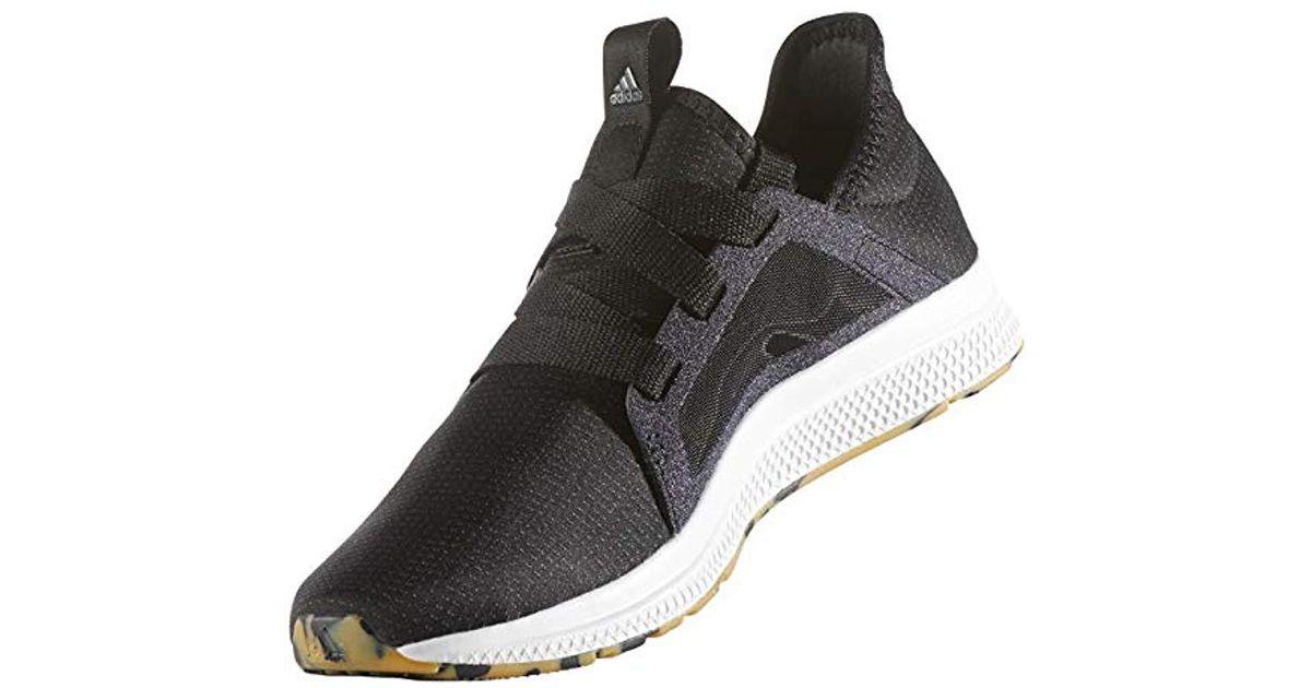 pretty nice 9db7d 2f506 Lyst - adidas Edge Lux W Running Shoe in Black