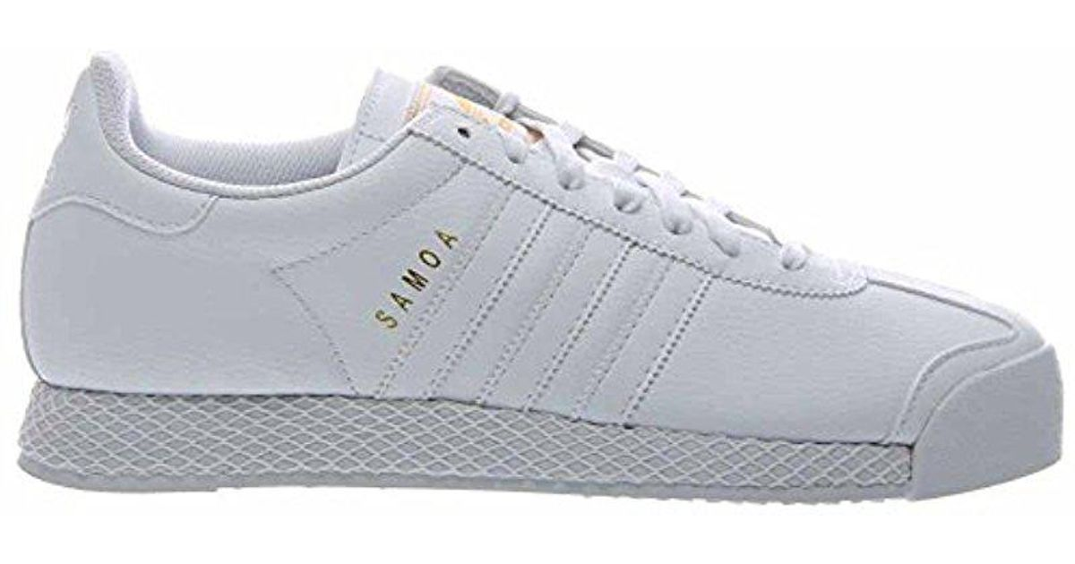 Source · Lyst Adidas Originals Samoa Shoes f37599 in White for Men 16df733d4