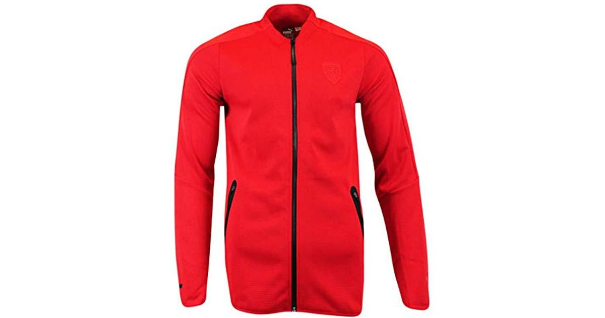 beb6db7ac05c1 PUMA Red Ferrari T7 Track Jacket for men