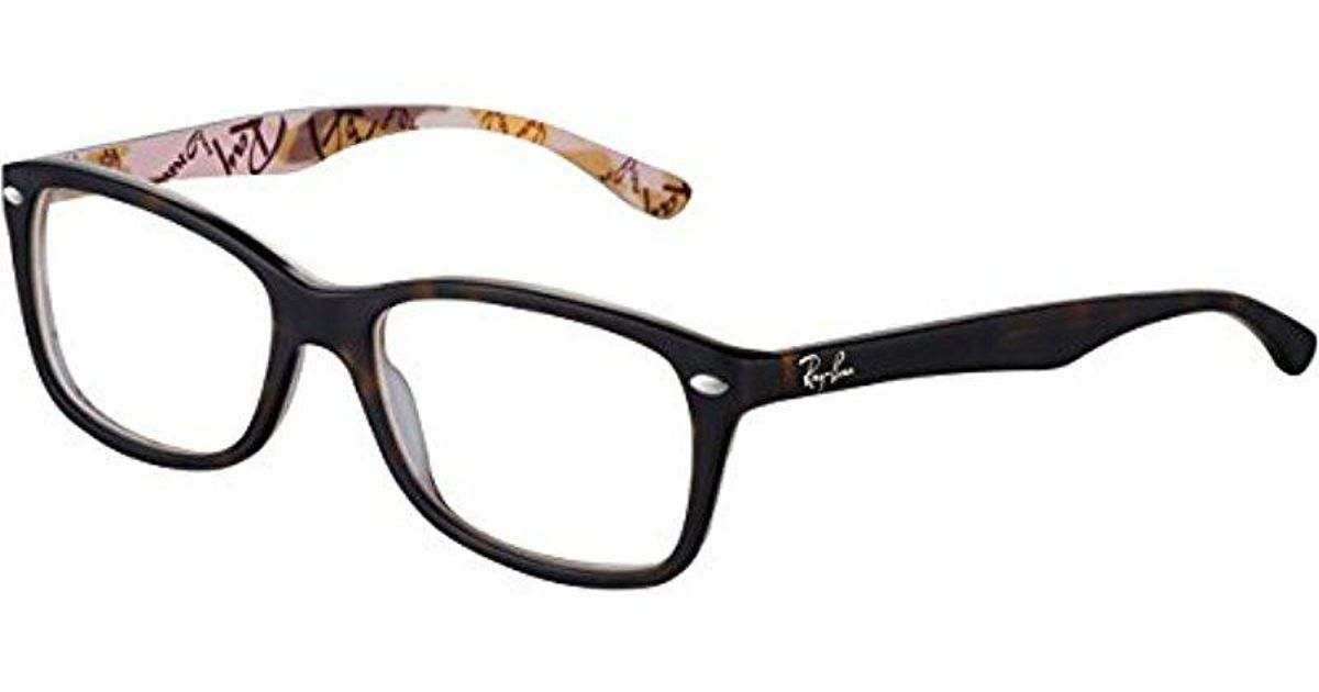 f10978a8170f5 Lyst - Ray-Ban Rx 5228 Eyeglasses in Brown