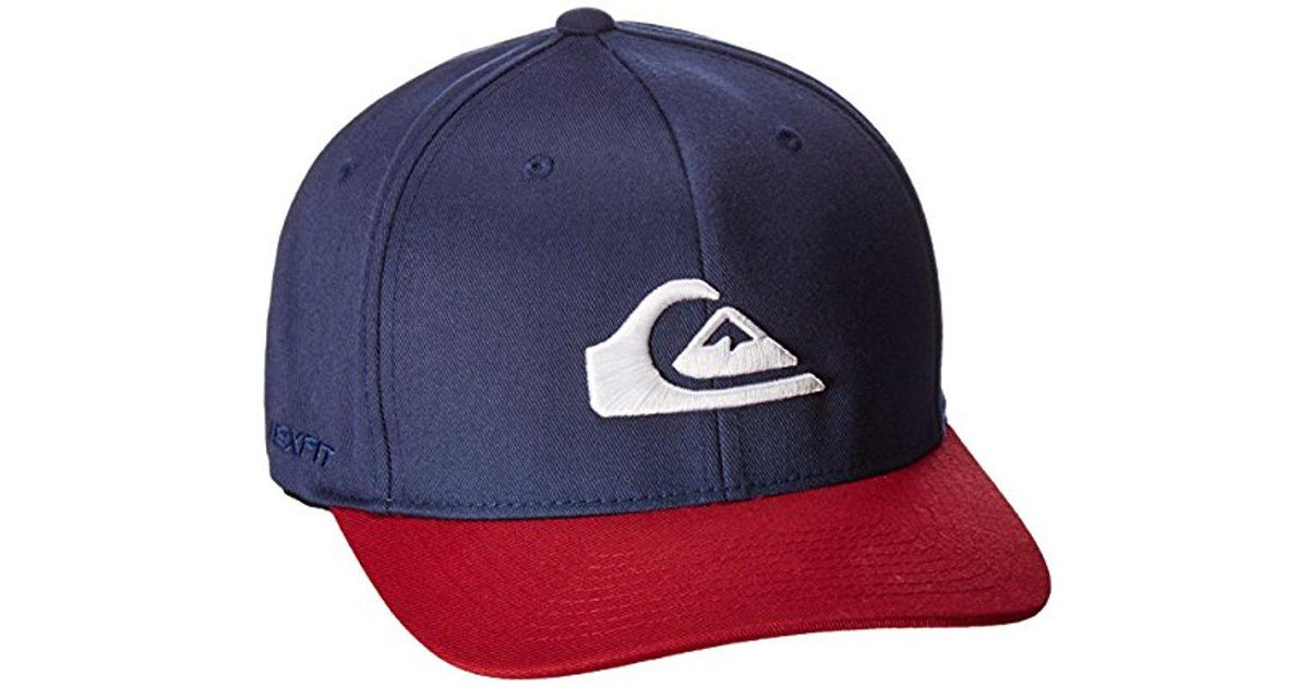 size 40 5fa6d 7b388 Lyst - Quiksilver Mountain And Wave Hat in Blue for Men