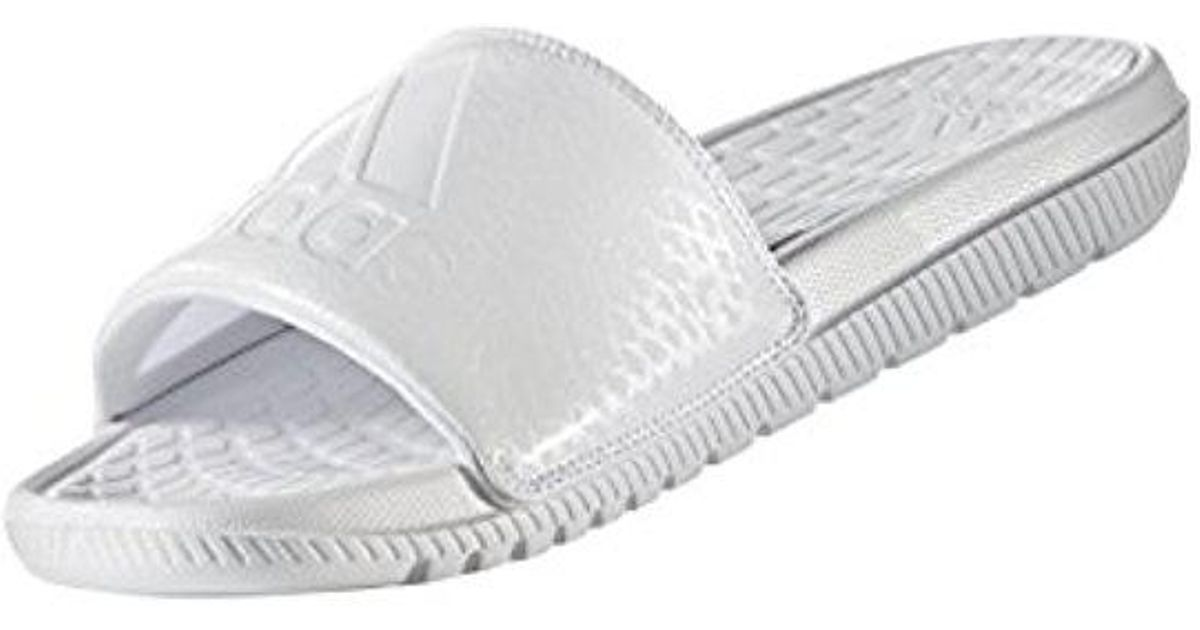 1c6bfb5732ae02 Lyst - adidas Voloomix Graphic S Swim Slide in White for Men