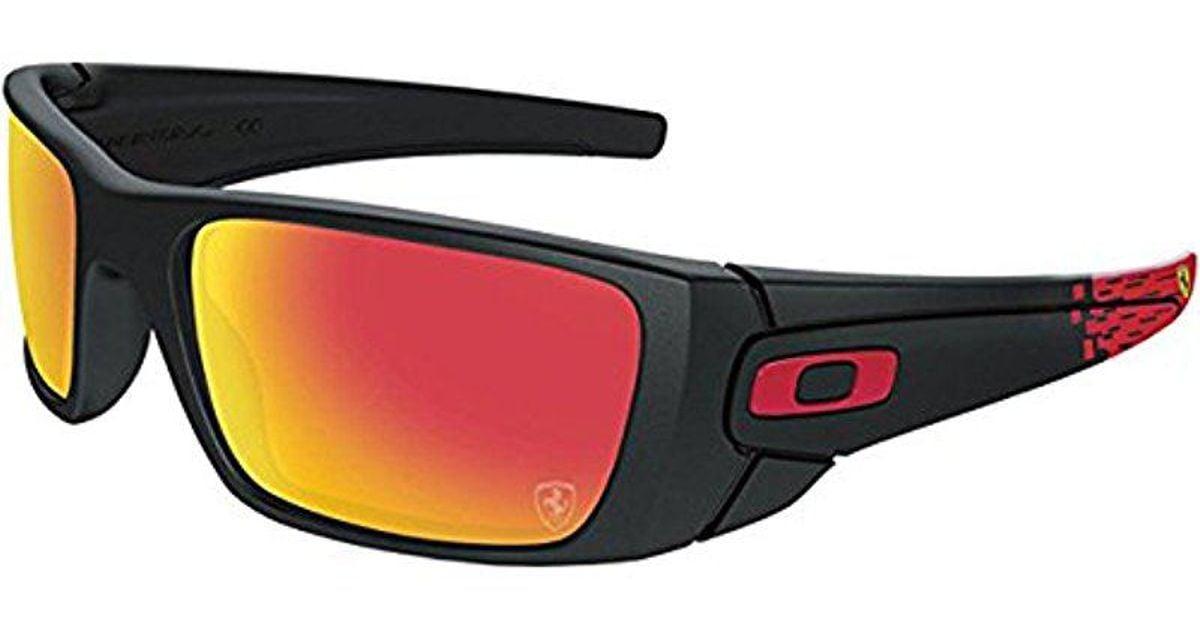 cd13b61402 Oakley Fuel Cell Scuderia Ferrari Sunglasses in Black - Lyst