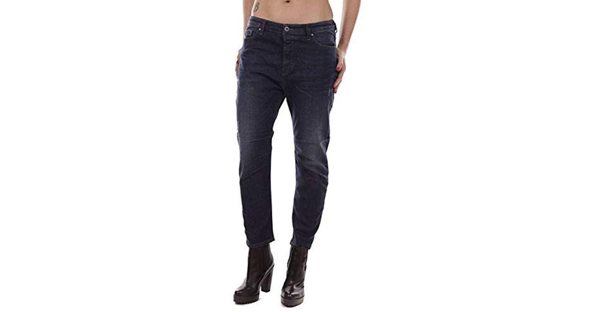 DIESEL Eazee rj738 Stretch Donna Jeans Pantaloni Boyfriend