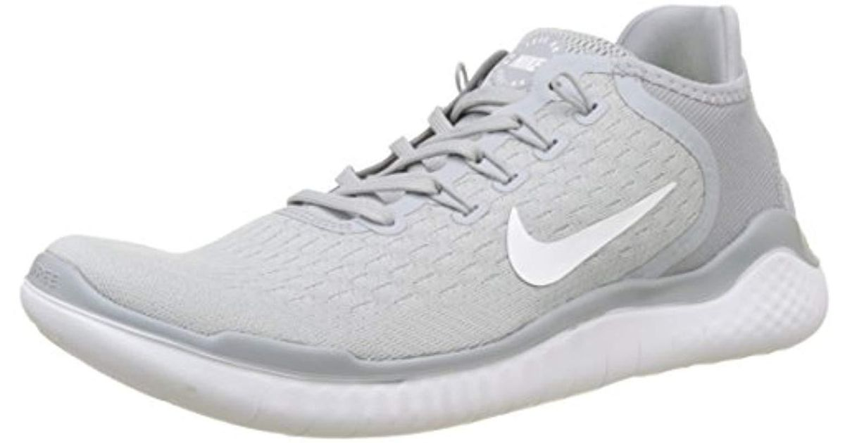 202dab094e2e Nike Free Rn 2018 Running Shoes in Gray for Men - Lyst
