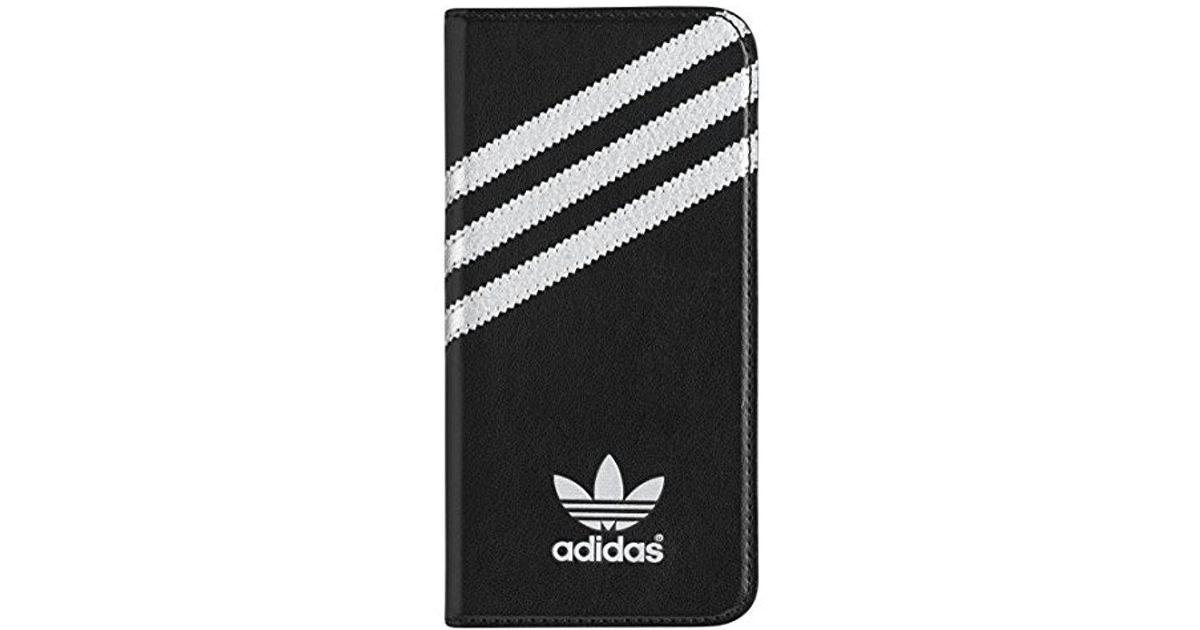 a2b9625bd6b16 Adidas Black Originals Booklet Wallet Cell Phone Case Iphone