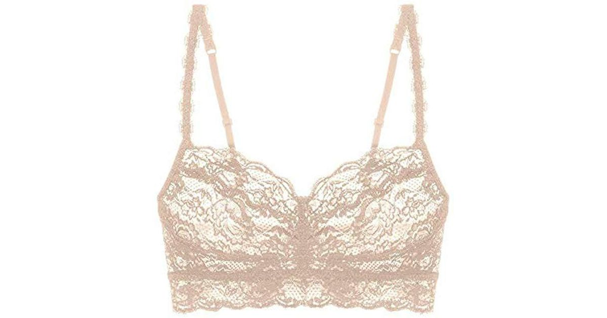 9cda8c58439d2 Lyst - Cosabella Never Say Never Sweetie Soft Bra in Natural