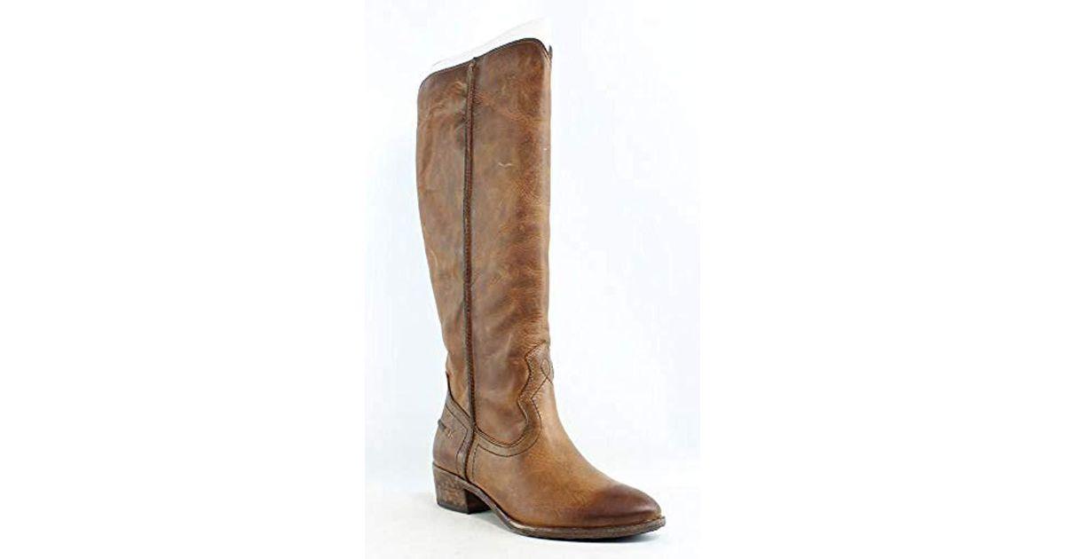 f5606f2c739 Frye Brown Ray Seam Tall Riding Boot
