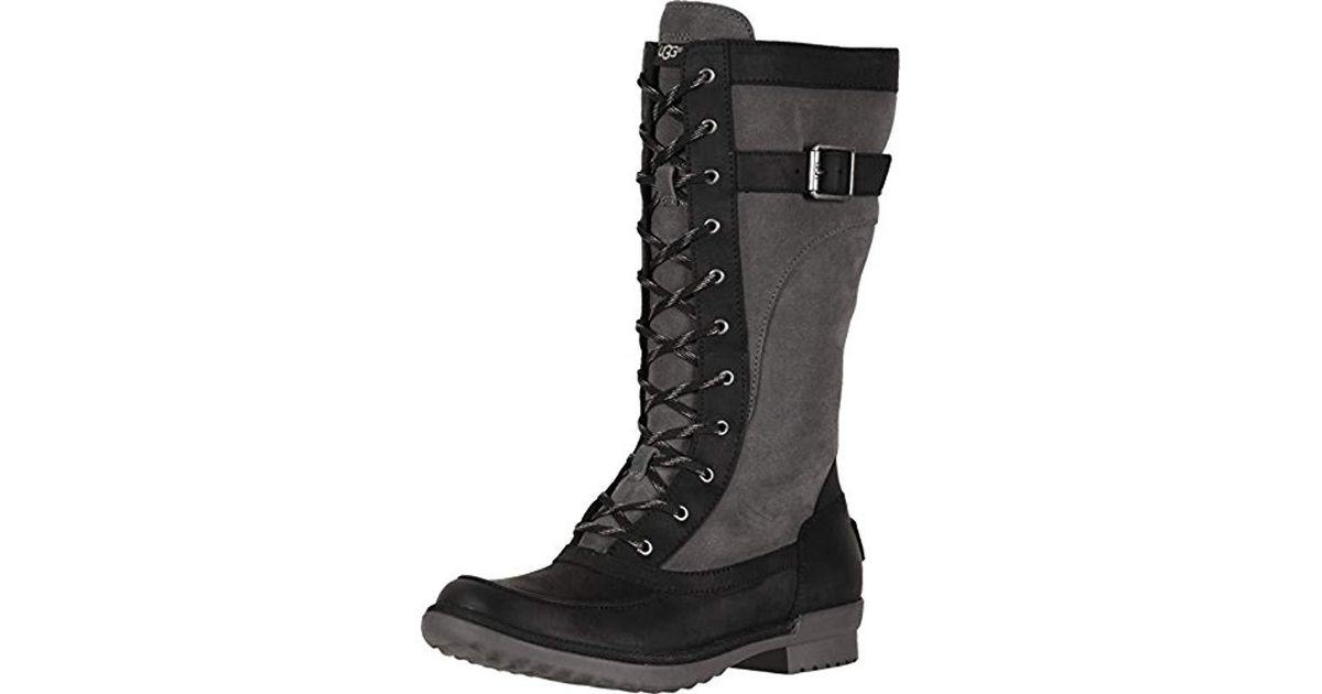 810feb8583c Ugg Black W Brystl Tall Fashion Boot