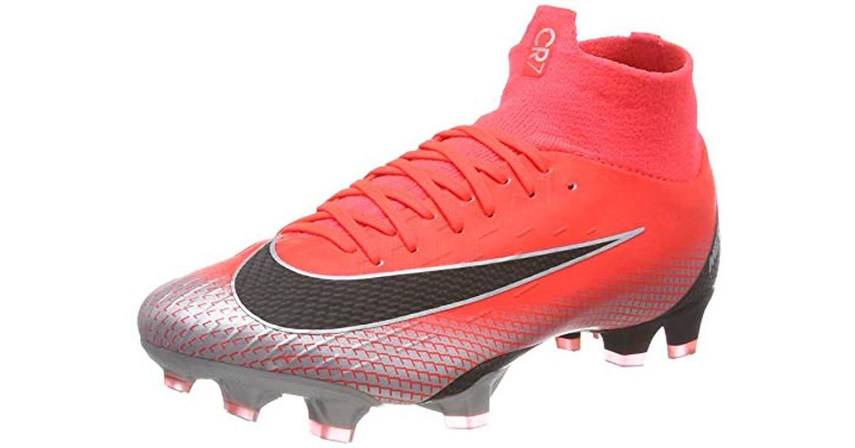 b5b2ee9a41e83 Nike - Red Unisex Adults' Superfly 6 Pro Cr7 Fg Footbal Shoes for Men - Lyst