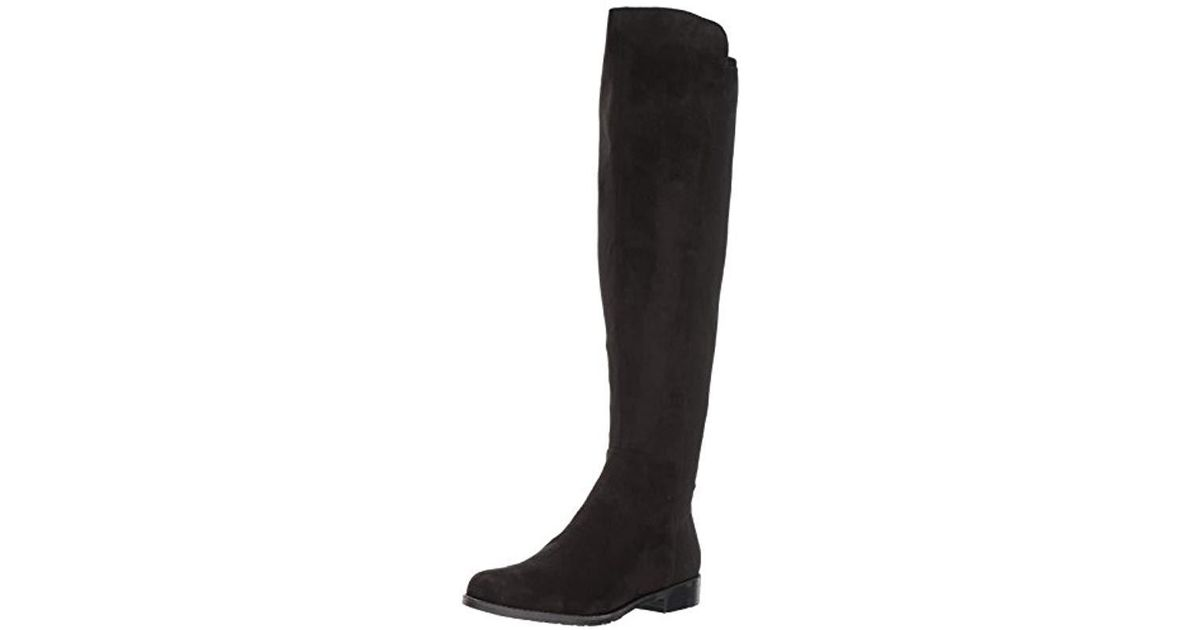 96c2916c639 Lyst - Marc Fisher Monica Over The Over The Knee Boot in Black - Save 23%