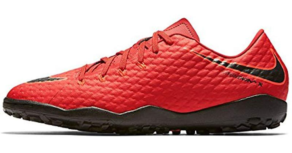 info for ebe5f 98c42 Nike Hypervenomx Phelon Iii Tf Football Boots in Red for Men - Lyst