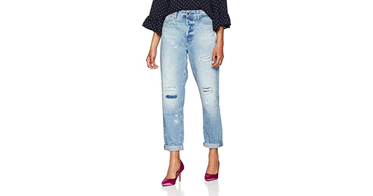 official shop huge selection of variety of designs and colors G-Star RAW Blue Midge Saddle High Waist Boyfriend Jeans