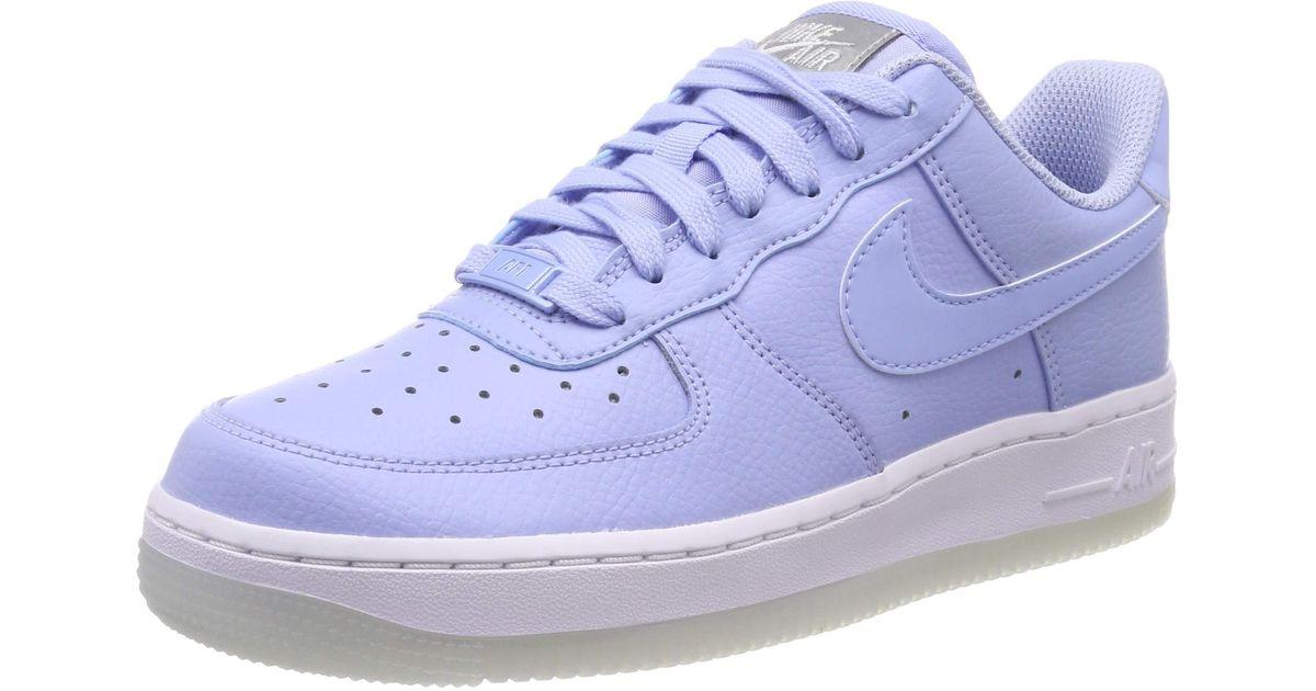 Air Force 1 '07 Essential Nike en coloris Bleu - Lyst