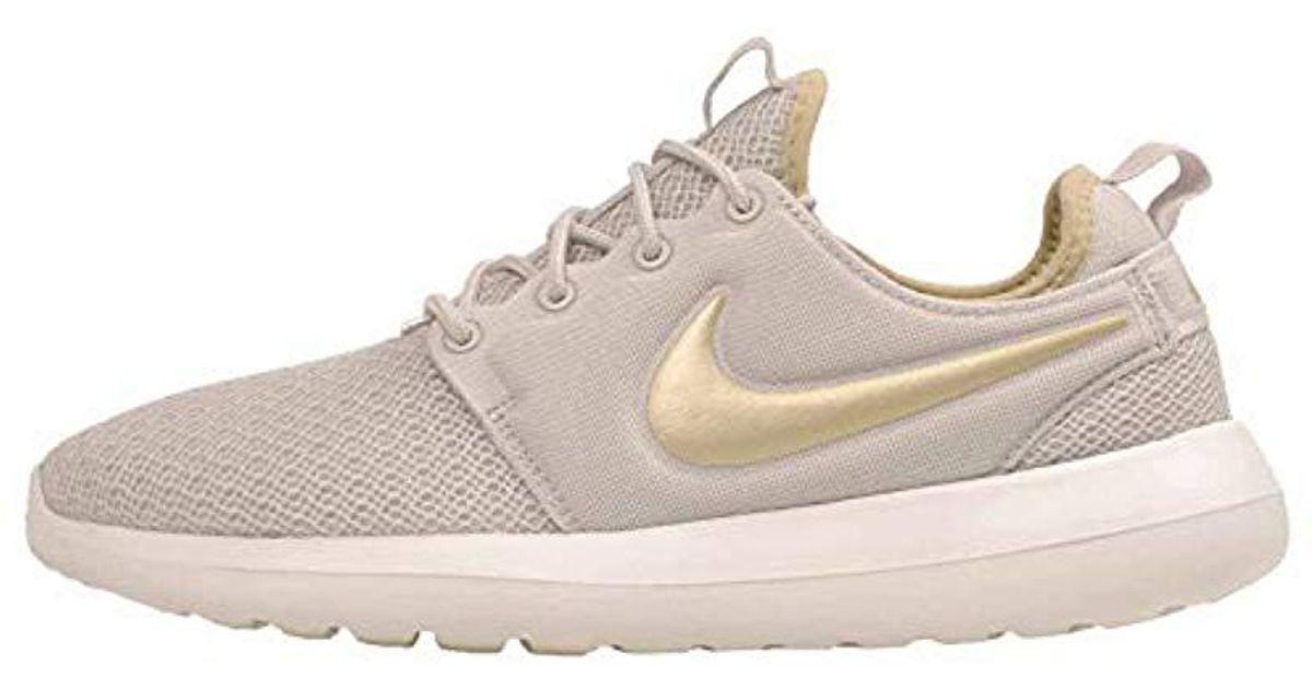 Nike Women's Wmns Air Max 1 Ultra SE, LIGHT BONELIGHT BONE MTLC RED BRONZE, 6 US