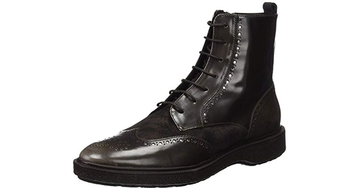 Borde Paradoja cielo  Geox D Prestyn A Boots in Brown (dk Coffee) (Brown) - Lyst