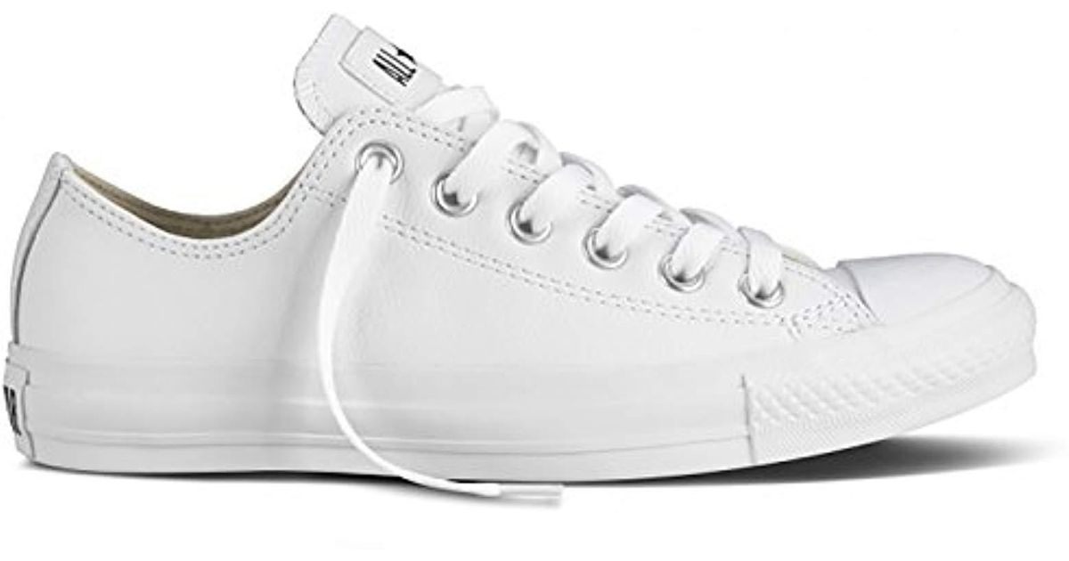 Lyst - Converse Chuck Taylor All Star Leather Ox 7f0811d586