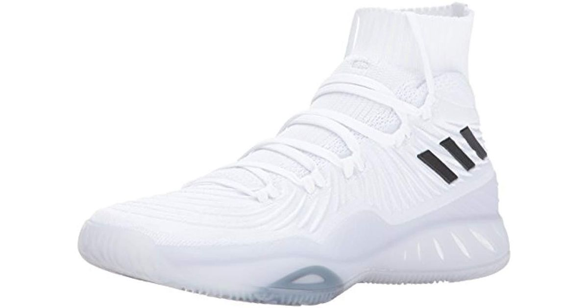 dc78afed7db8a Lyst - adidas Crazy Explosive 2017 Primeknit Basketball Shoe in White for  Men - Save 38%