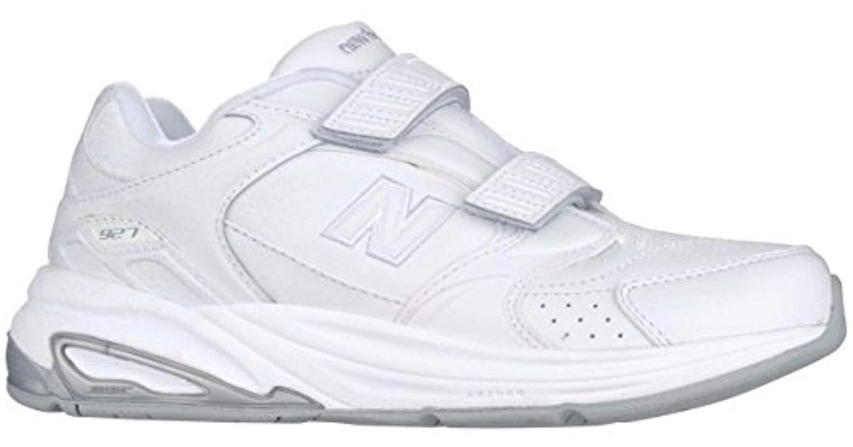 38a99adb961f ... 608v4 sneakers 4e width de48b fffec  ireland lyst new balance ww927  velcro walking shoe in white 5c61d 7190b