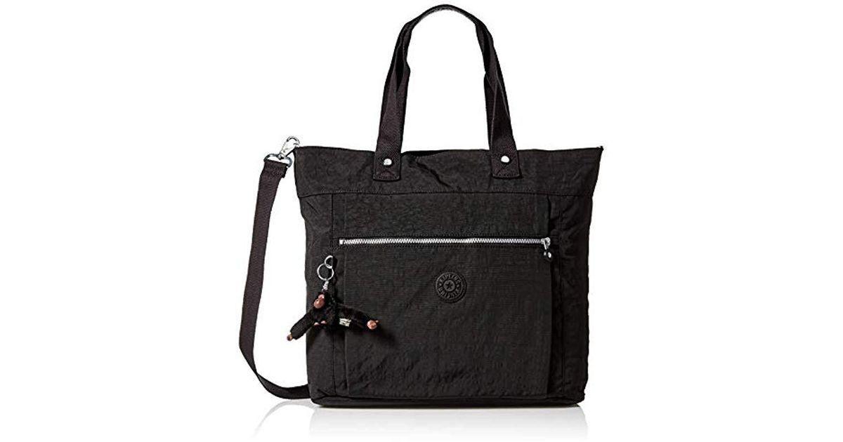 Adjustable Crossbody Strap Kipling Lizzie Laptop Tote Bag Zip Closure Removable