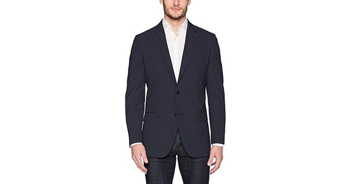c8c936600f19d Nautica Blue Bi-stretch Slim Fit Suit Jacket for men