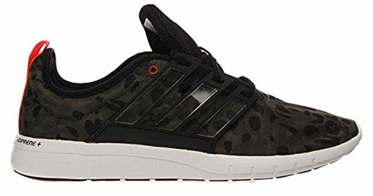 Adidas Black Performance Climacool Leap M Running Shoe for men