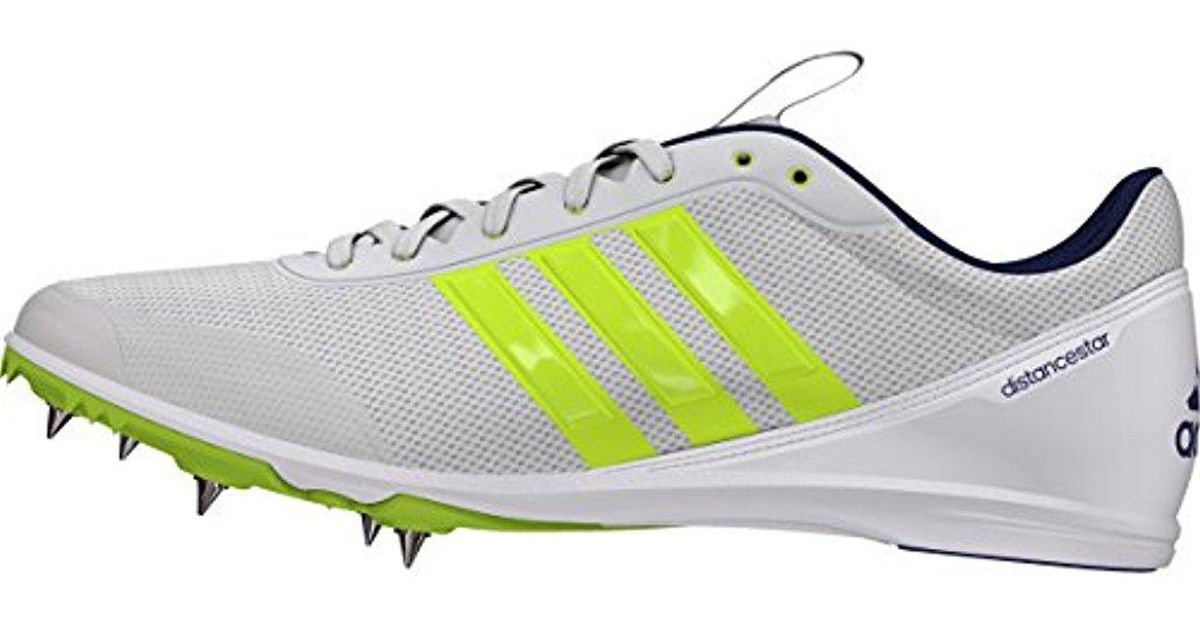 Adidas Multicolor Distancestar W Running Shoes With Spikes