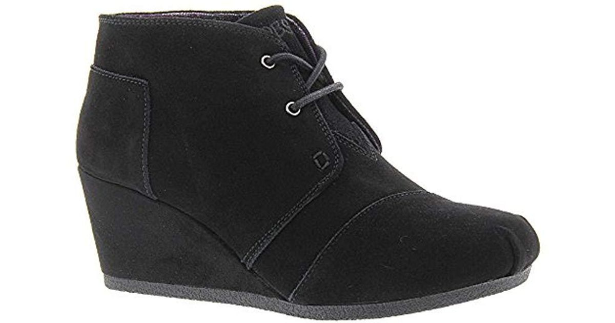 3153ef030db Lyst - Skechers Bobs From High Notes Wedge Boot in Black
