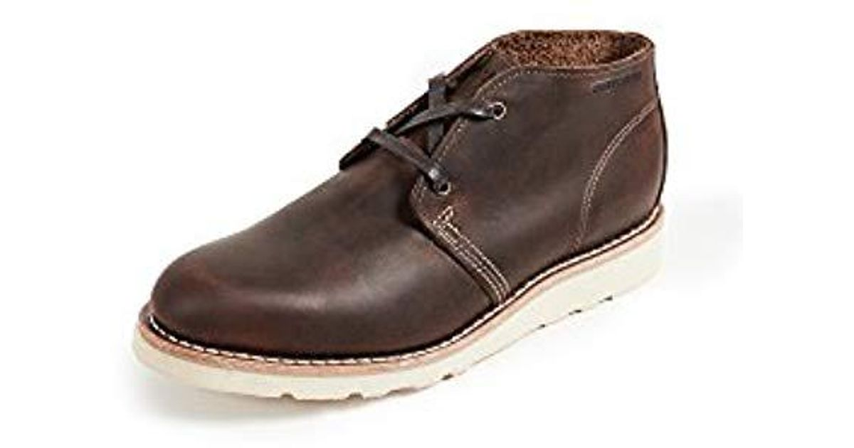 6663891fcd6 Wolverine - Brown Liam Made In Usa Chukka Boot for Men - Lyst