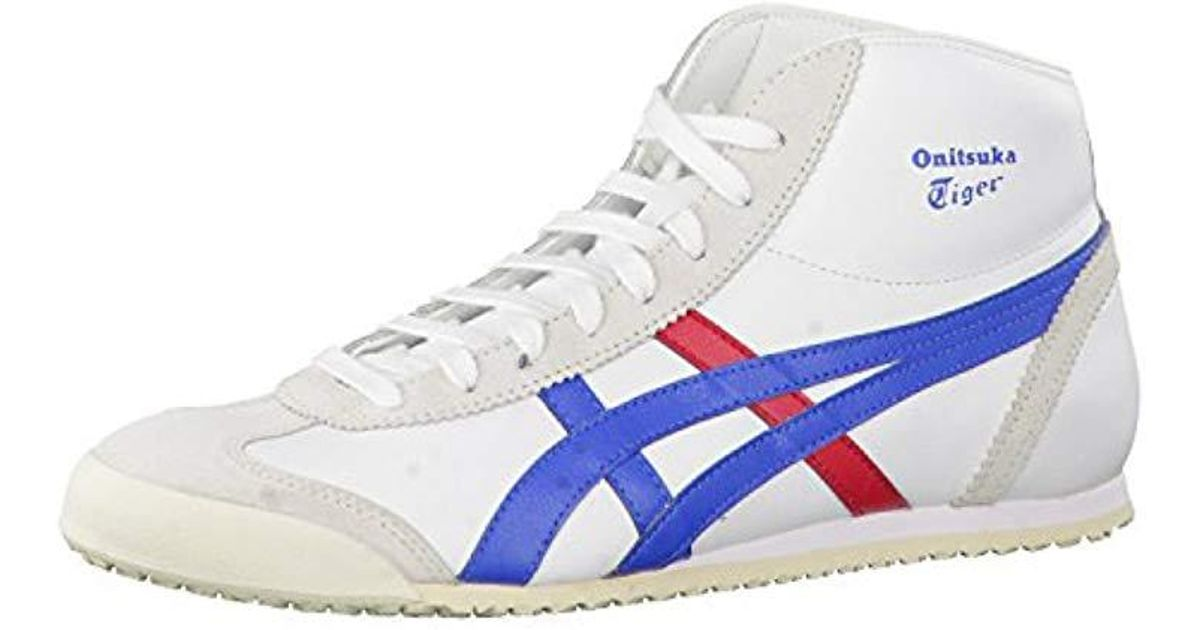 designer fashion 66f90 b6302 Asics White Unisex Adults' Mexico Mid Runner Hi-top Trainers for men
