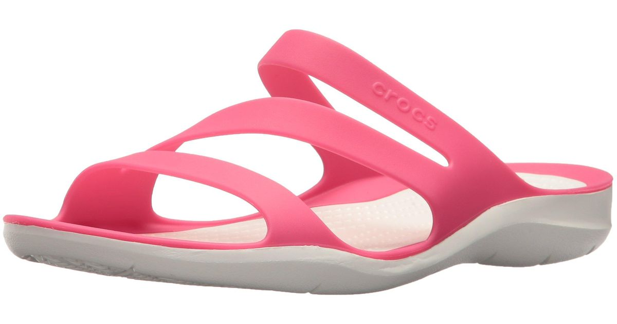 Crocs Womens Swiftwater Sandal Lightweight and Sporty Sandals for Women
