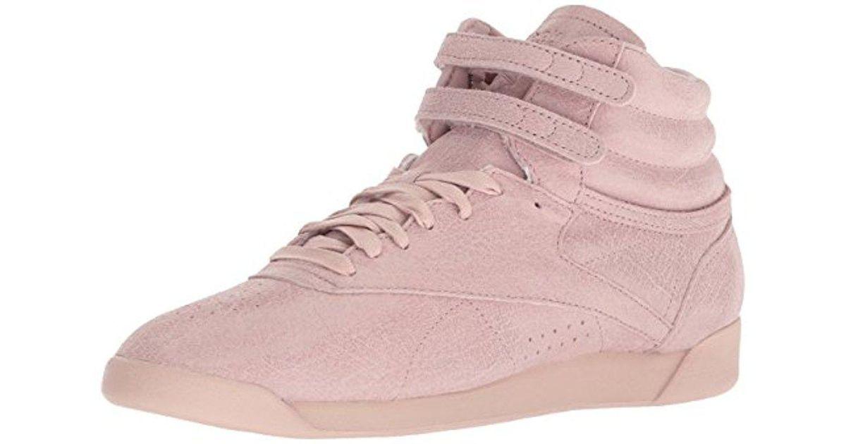 15e68d1cbcd Lyst - Reebok F s Hi Fbt Walking Shoe in Pink
