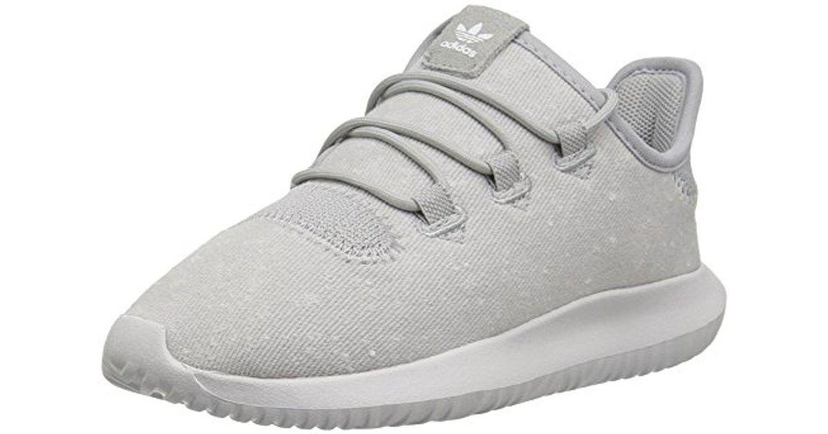 separation shoes f22ae 46a1a Adidas Originals Gray Kids' Tubular Shadow C Sneaker