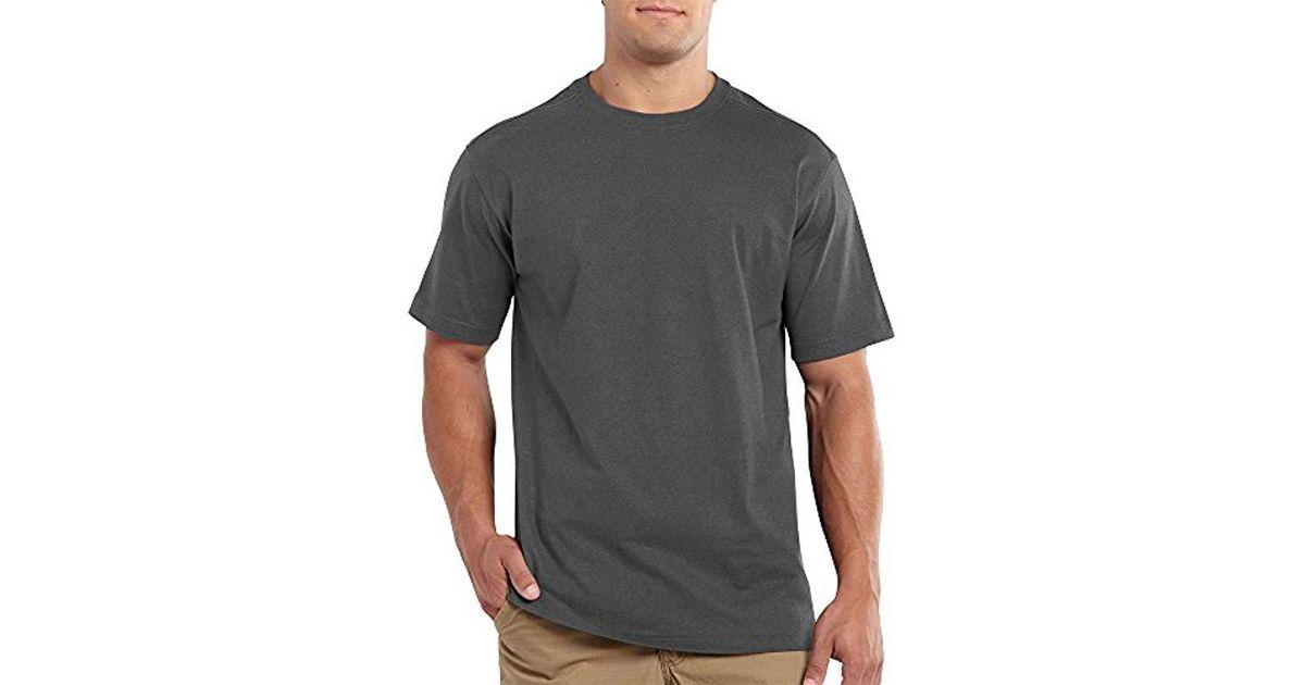 Carhartt Men/'s Big /& Tall Maddock Non Pocket Short Sleeve T-Shirt