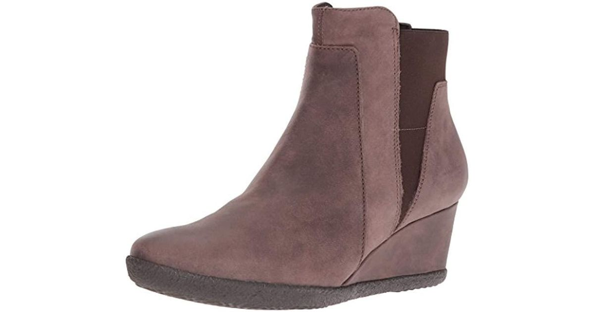 Geox Axel ankle boots in Chesnut
