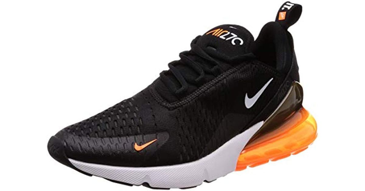 4f031d09d06eb Nike Black Air Max 270 Competition Running Shoes for men
