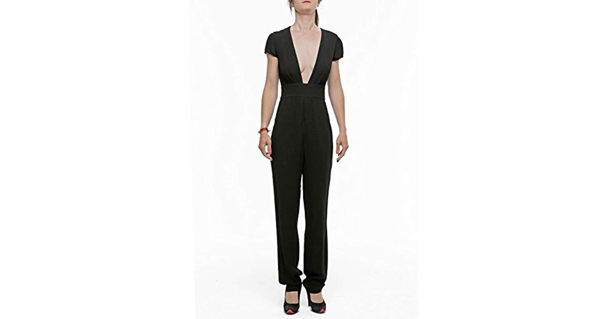 4f5a9d73ca3d Lyst - Armani Jeans Short Sleeve Tube Insert Jumpsuit in Black - Save 18%