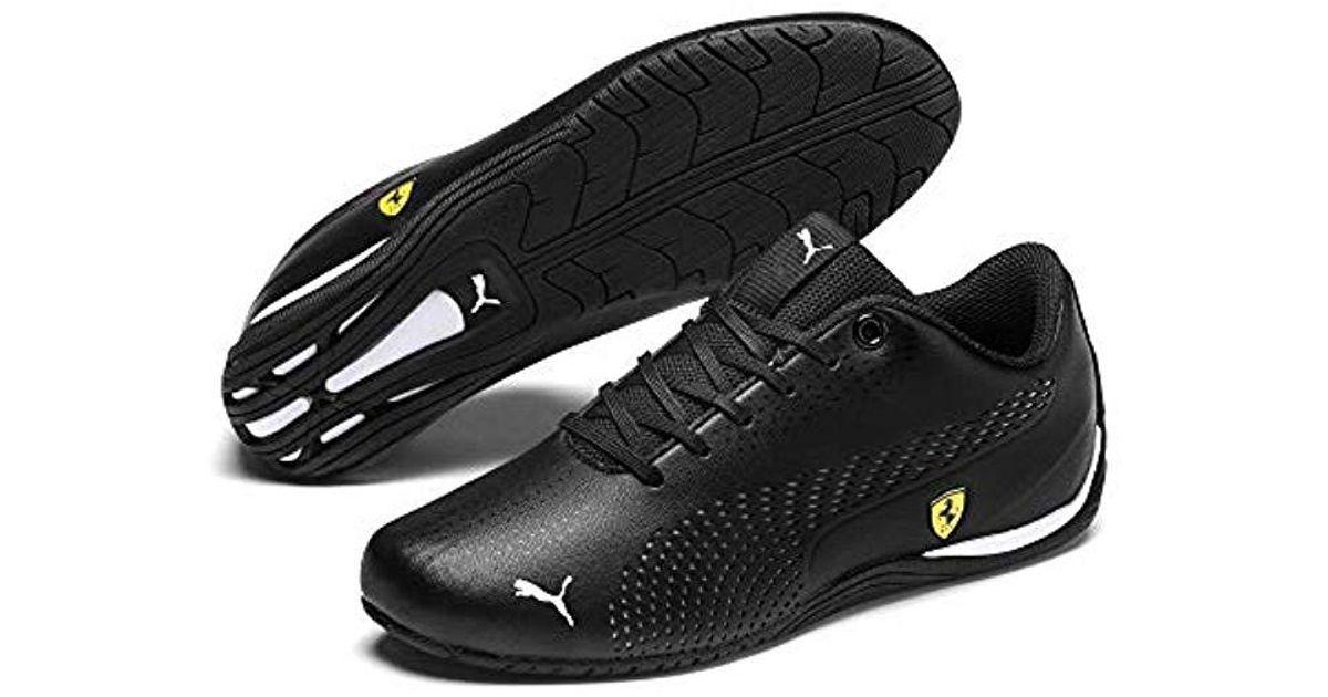 PUMA Black Ferrari Drift Cat 5 Ultra Ii Youth Trainers