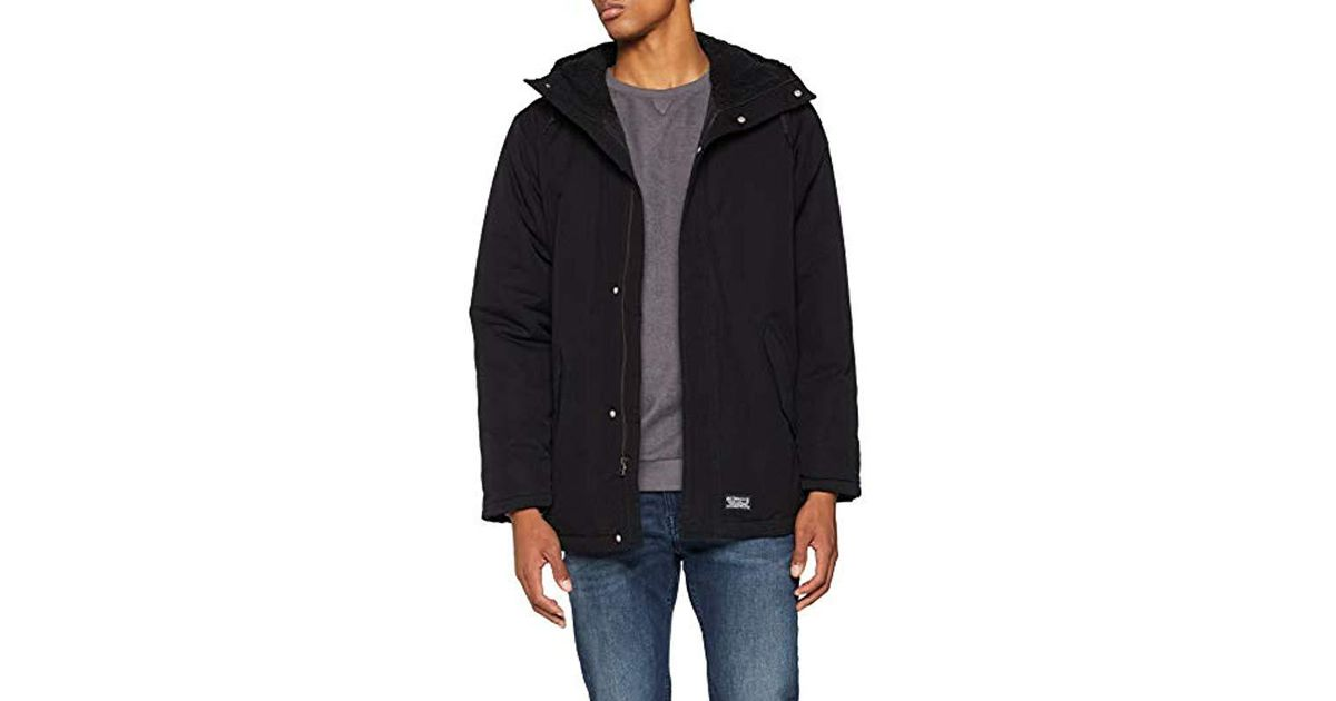 4ccc711df Levi's Black Thermore Padded Parka for men